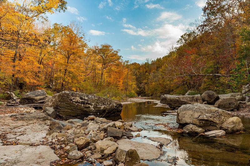 Richland Creek Fall Colors